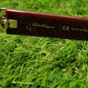 Salvatore Ferragamo Accessories - Salvatore Ferragamo Burgundy SF780S